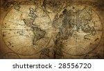 retro map | Shutterstock . vector #28556720