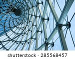 the modern building structure | Shutterstock . vector #285568457