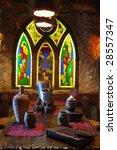 interior made as an ancient... | Shutterstock . vector #28557347