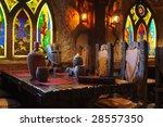 interior made as an ancient... | Shutterstock . vector #28557350