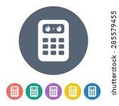 vector illustration of modern... | Shutterstock .eps vector #285579455