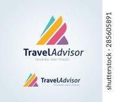 travel vector logo template