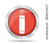 the punching bag icon. boxing... | Shutterstock . vector #285611417