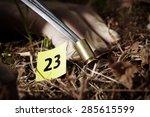 crime scene investigation  ... | Shutterstock . vector #285615599