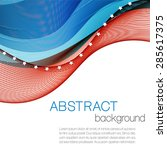 Abstract Background With Color...