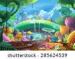 illustration  the ant planet v2.... | Shutterstock . vector #285624539