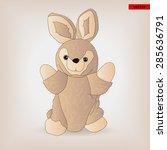 toy bunny | Shutterstock .eps vector #285636791