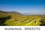 view on the leopoldsberg church ... | Shutterstock . vector #285652751