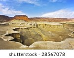 dry canyon in ancient mountains ... | Shutterstock . vector #28567078