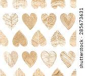 Hand Drawn Decorative Hearts...