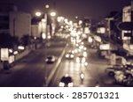 Blur Cars Traffic Urban Street - Fine Art prints