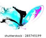 mister of fighting | Shutterstock . vector #285745199