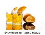 Cocktail With Orange Slices
