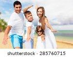 beach  summer  teens.   Shutterstock . vector #285760715