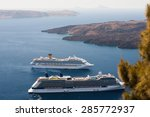 Beautiful Landscape With Cruise ...