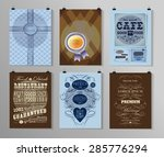 set of poster  flyer  brochure... | Shutterstock .eps vector #285776294