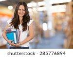 student  university  college... | Shutterstock . vector #285776894