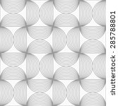 gray seamless geometrical... | Shutterstock .eps vector #285788801