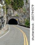 A Tunnel Through Mountain