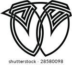 celtic knot  69 | Shutterstock .eps vector #28580098