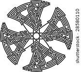 celtic knot  73 | Shutterstock .eps vector #28580110