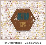 abstract background with...   Shutterstock .eps vector #285814031