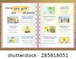 how to deal with your old...   Shutterstock .eps vector #285818051