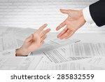 finance  tax  paperwork. | Shutterstock . vector #285832559