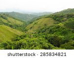 Lush Green Mountains Of The...