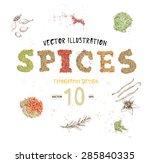 vector illustration. creative... | Shutterstock .eps vector #285840335