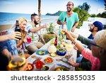 Beach Summer Dinner Party...