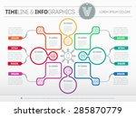 web template for circle diagram ...   Shutterstock .eps vector #285870779