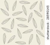 decorative wallpaper ornament... | Shutterstock .eps vector #28590145