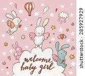 Welcome Baby Girl   Concept...