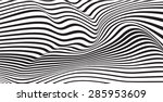 abstract mobious wave vector...   Shutterstock .eps vector #285953609