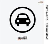 car .car icon. vector... | Shutterstock .eps vector #285969359