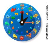 Funny Cartoon Clock For Kids....