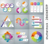 infographic design template can ... | Shutterstock .eps vector #286068509
