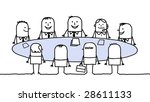 business meeting | Shutterstock .eps vector #28611133