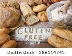 A Gluten Free Breads On Wood...