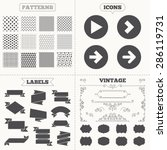 seamless patterns. sale tags...