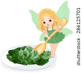 Illustration Of Spinach Fairy...