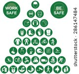 green construction... | Shutterstock . vector #286147484