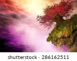 illustration of surreal... | Shutterstock . vector #286162511