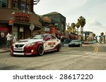 long beach  ca   april 9  cars... | Shutterstock . vector #28617220
