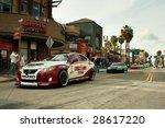 long beach  ca   april 9  cars...   Shutterstock . vector #28617220