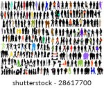 variety fashion  business... | Shutterstock .eps vector #28617700