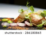 Piglet Sauteed With Scallops...