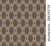 geometric pattern with golden... | Shutterstock . vector #286193729