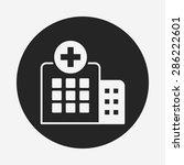 hospital icon   Shutterstock .eps vector #286222601